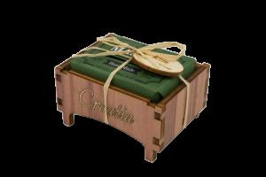 Drvena kutijica maslina