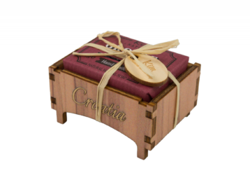 Drvena kutijica grožđe