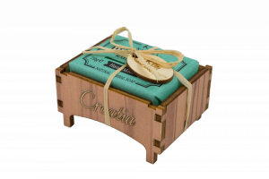 Drvena kutijica ružmarin