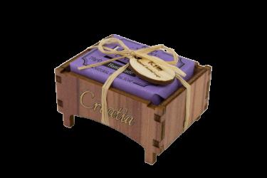 Drvena kutijica lavanda